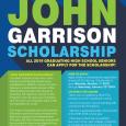2018-2019 John Garrison Scholarship